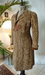 8 antique battenburg lace coat 1906