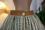 3 antique Biedermeier petticoat 1830