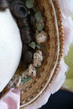 7 antique bonnet 1860