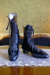 antique lace up boots 1900