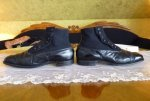 13 antique mens high button shoes