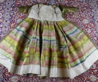 31 antique childs court dress 1760