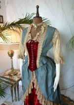 3 antique Ball gown 1876