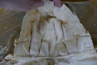 14 antique wedding bonnet 1870