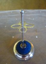 5 antique Hat pin holder 1905