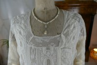 1 antique tea gown 1926
