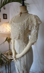 16 antique wedding gown