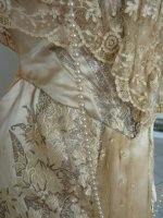 13 antique evening gown Worth 1910