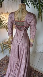 14a antique dress