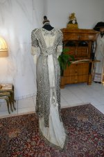 21 antique evening gown 1912