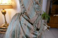 49 antique dress Bondeaux sisters 1889