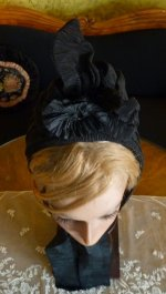 15 antique mourning bonnet