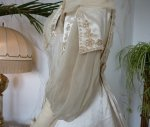 19 antique edwardian wedding dress 1909