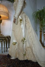 21 antique wedding Gown 1895