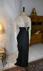 3 antique evening gown Nelmarie 1913