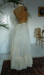9 antique petticoat