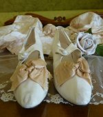 65 antique bridal shoes 1895
