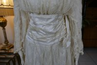 22 antique wedding dress Barcelona 1908