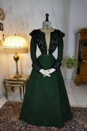 antique reception gown 1896