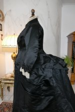 17 antique Pingat bustle dress 1880