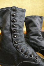 8 antique Facundo Garcia button boots 1879