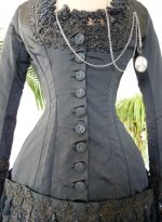 11 antique mourning dress 1879