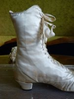 12 antique wedding shoes 1875