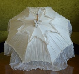 antique victorian parasol 1890
