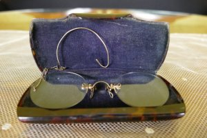 antike Brille 1890