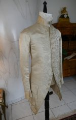 3 antique rococo wedding coat 1740