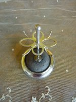 3 antique hat pin stand 1905