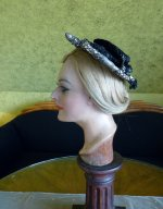 7antique victorian bonnet 1895