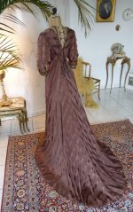 40 antique art nouveau dress