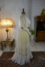 27 antique tea gown 1903