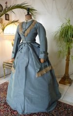 3 antique reception gown 1865
