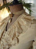 6 antique wedding gown 1877