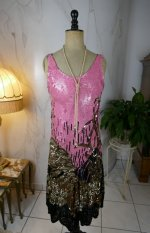 2 antique charleston dress 1920