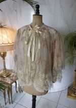 1 antique bed jacket