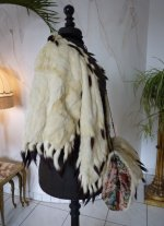 8 antique ermine cape