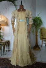 2 antique belle epoque negligee