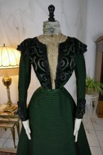 3 antique reception gown 1896