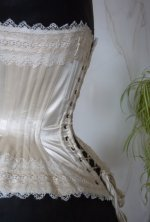 17 antique wedding corset 1880