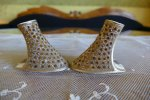 10 antique jewelled shoe heeles 1920