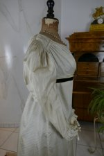 19 antique empire dress 1815