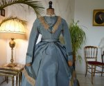 1 antique reception gown 1865