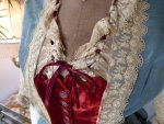 7a antique Ball gown 1876