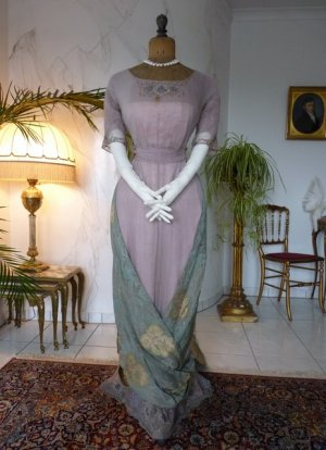 antique dress 1912