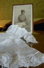 3 antique christening gown