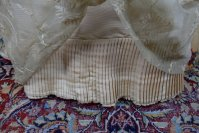 9 antique LEROUX Ball gown 1890