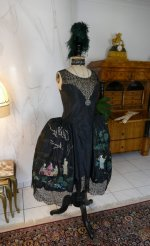 3 antique robe de style 1924